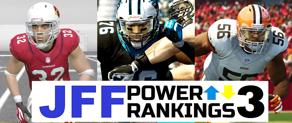JFF Power Rankings - Installment #2