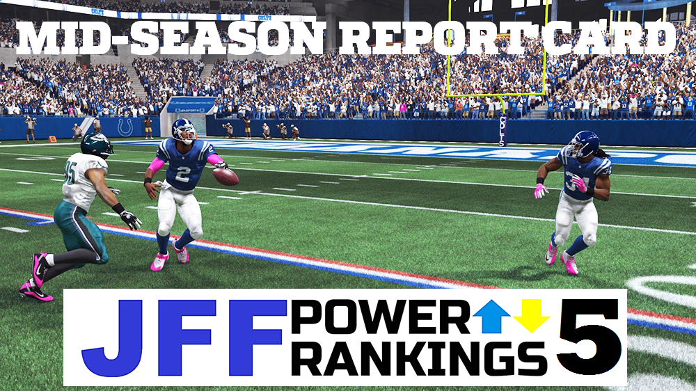 JFF Power Rankings - Installment #5