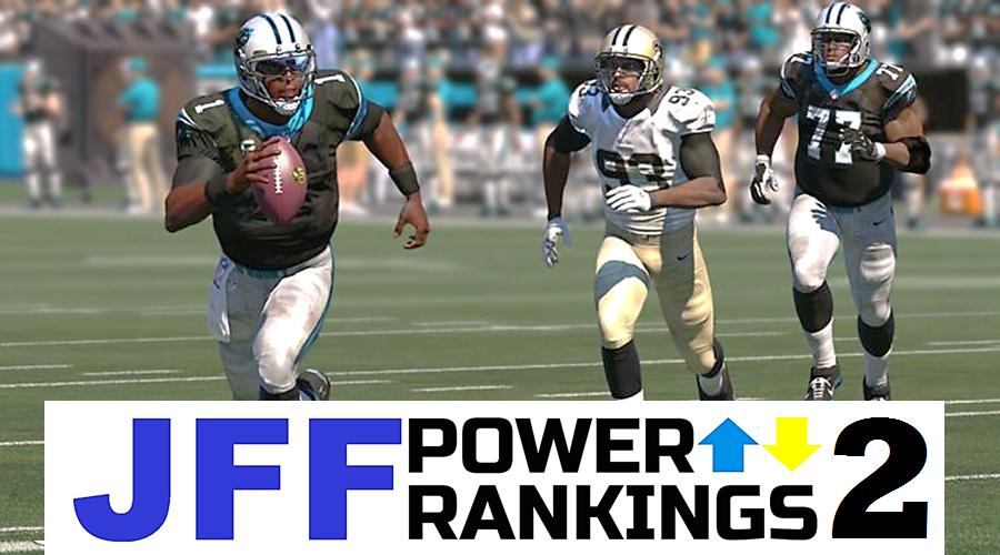 JFF Power Rankings - Installment #2