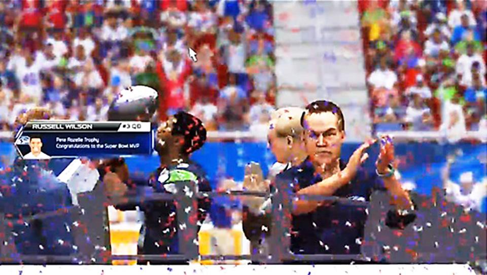 JFF Seahawks Celebrate - JFF Super Bowl XI