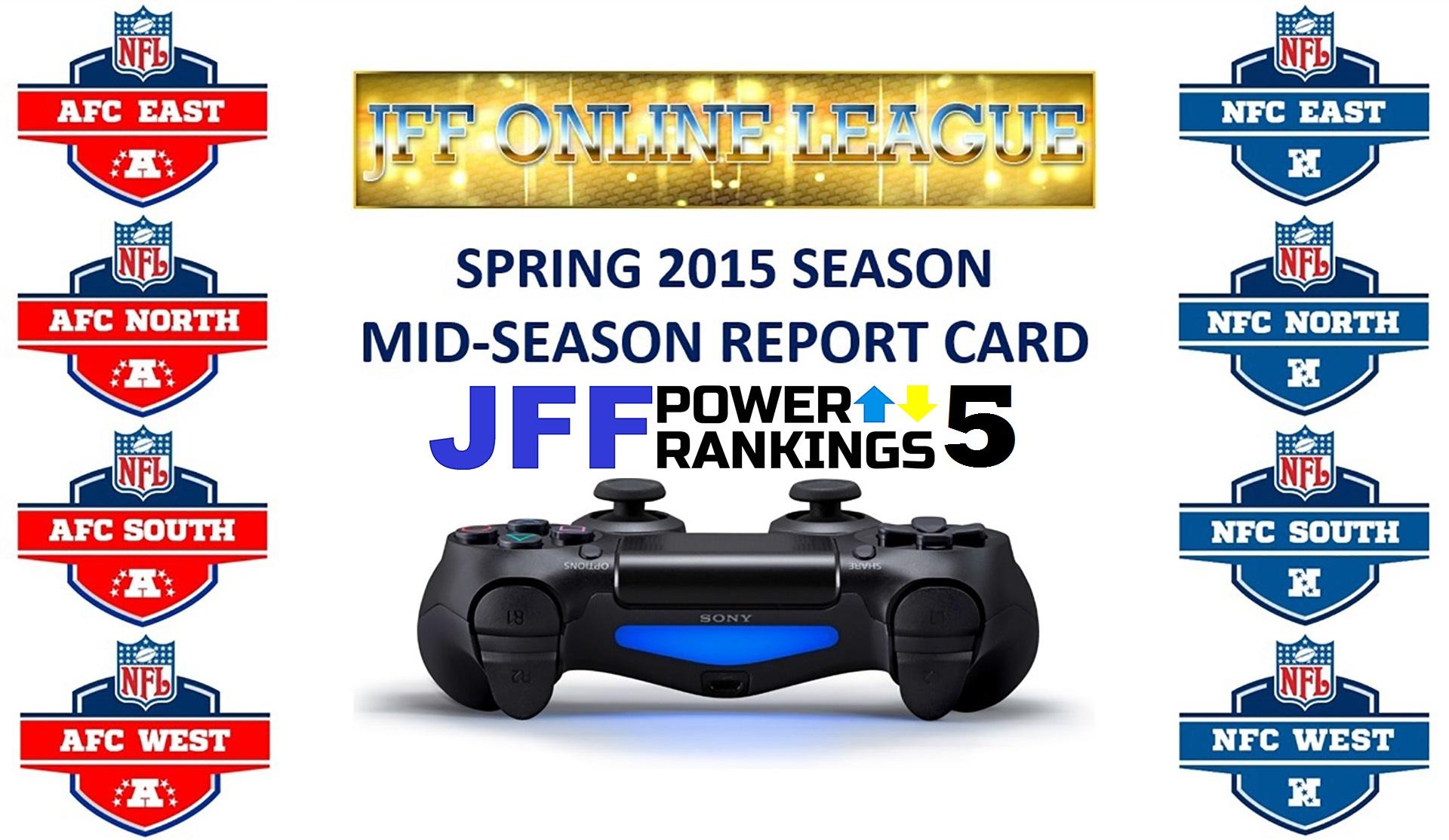 JFF Power Rankings - Installment #5