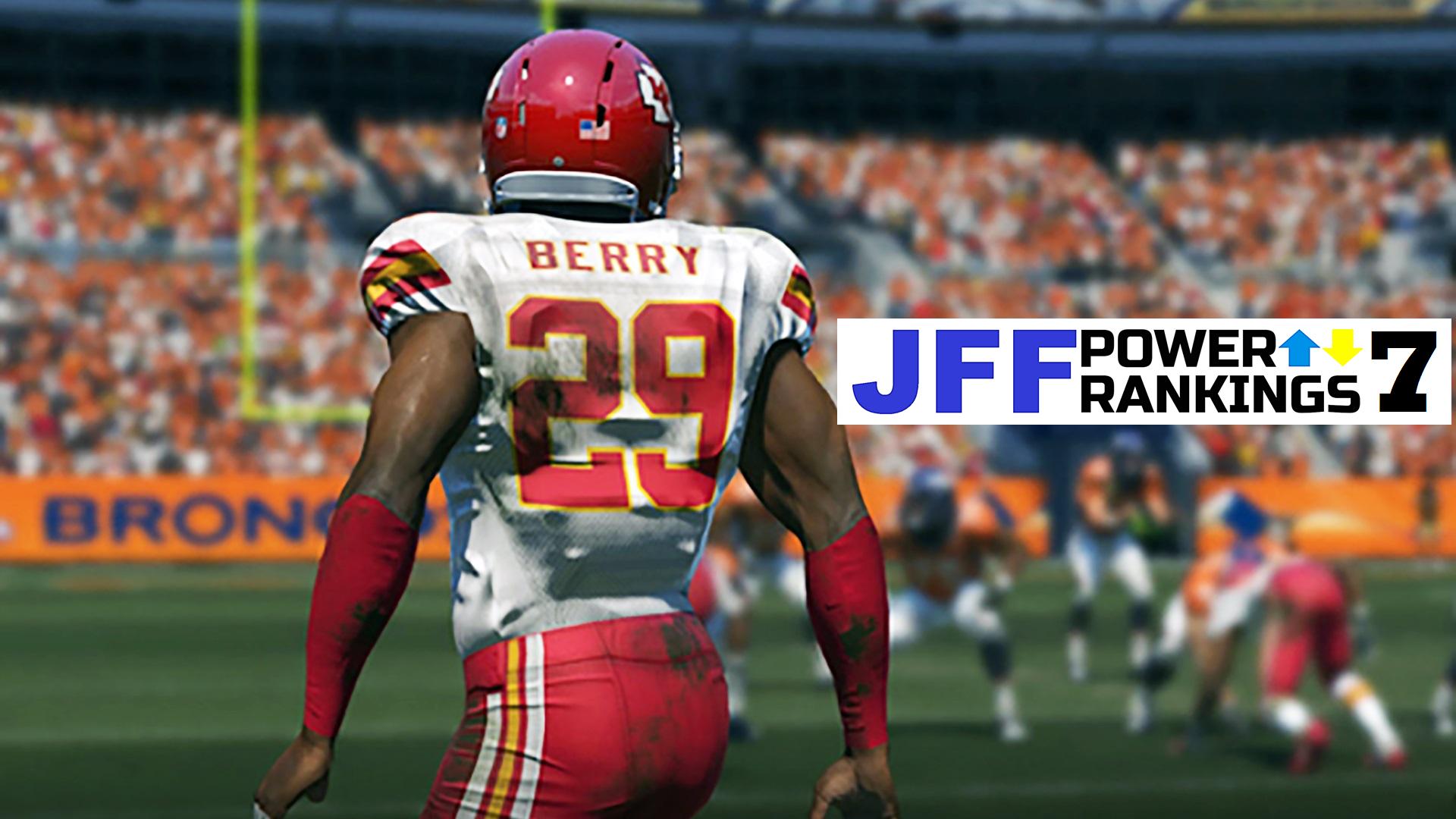 JFF Power Rankings - Installment #7