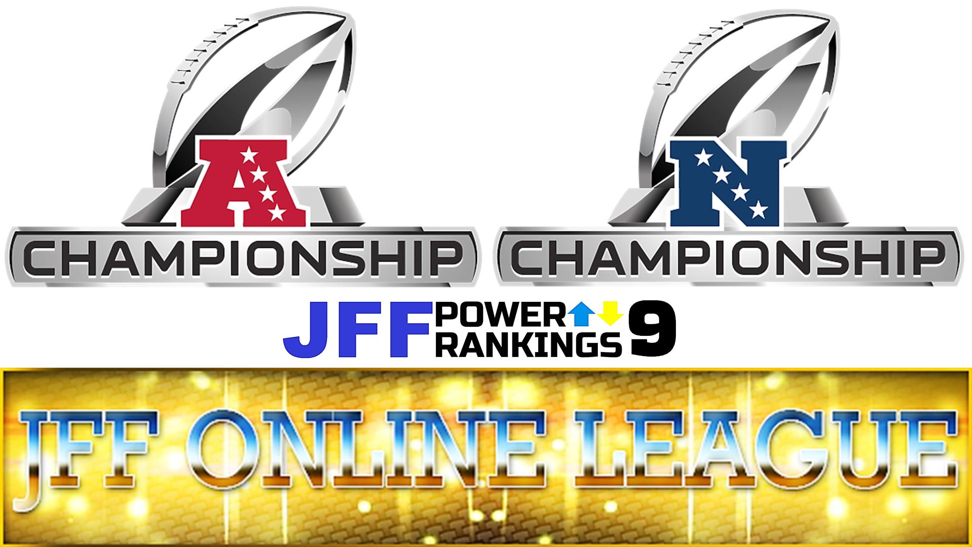 JFF Power Rankings - Installment #9
